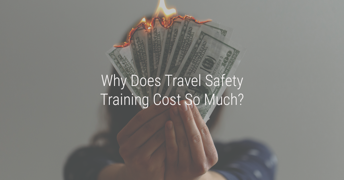 travel safety training cost